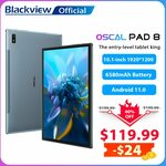 """Blackview Oscal Pad 8 Tablet (Android 11,10.1"""", 4GB/64GB, 4G LTE) US$118.99 (~A$161.40) Delivered @ Blackview AliExpress"""