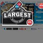 Domino's Value Range Pizza $4.95 Ends (23/9)