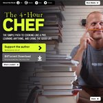 Free Teaser + Extra Content - 4-Hour Chef by Tim Ferris [BitTorrent] [$4.99 on Kindle, $21 Hardcover]