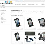 Lifeproof iPhone Cases 15% off with code