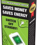 EcoSwitch Easy Reach Power Switch from $12.95+$9.95 post (4+ @$10ea + Free Post)