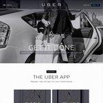 FREE $40 Uber Taxi Credit: $20 Via Referral Link Sign up + $20 Via Promo Code after Sign up
