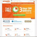 Amaysim Unlimited Call + 5GB Data $20 1st Month (Save $24.90). Extra $10 Credit New Customer