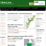 UberLine Grass Line Marking Paint - Save up to $40 Per Pail, Free Delivery NSW QLD VIC SA ACT