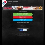 Domino's Any 3 Pizzas + Garlic Bread + 1.25l Drink $25.00 Delivered