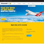 40,000 Qantas FF Points with Commbank Platinum Awards Credit Card ($10 First Year Fees)