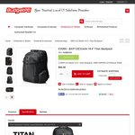 """Everki Titan 18.4"""" Laptop Backpack (EKP120) $96 with Free Shipping @ Budget PC"""