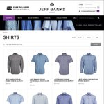 Shirt Frenzy - All Jeff Banks Shirts $50 for 1 Day Only