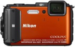 Nikon Coolpix AW130 16MP Digital Camera, $237.20 after $50 CashBack and $25 Signup Voucher @ Harvey Norman
