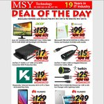 """Acer S240HL 24"""" Monitor $159 and More Deals @ MSY"""
