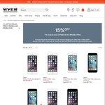 [Myer] 15% off - iPhone 6: 128GB $1104.15, iPhone 6 Plus: 16GB $917.75, 128GB $1231.65