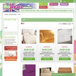 Pure Cotton Reversible Sheets 400/600 Thread Count $12/$14 + $19.95 Postage @ Go Deals