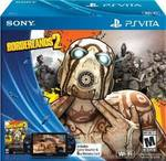 PS Vita Wi-Fi Bundle with Borderlands 2 Full Game Digital Voucher and 8GB Memory Card - US$133.90 (~AU$175.60) Shipped @ Amazon