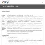 Free Beer - Carlton Draught Schooner Via Clipp Bar Tab App (Excludes QLD)