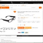 Mini HD 720P Glasses Hidden Eyewear Camera Video Record US $11.99/AU $15.79 Shipped (48% off) @ Newfrog