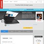 "ThinkPad X260 Laptop $1199 (Save $500) + Free 23"" Monitor (Valued at $250) @ Lenovo"