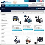 MO Tackle - 10% off All Fishing Reels