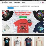 Threadless 40% off Excluding Artist Shops