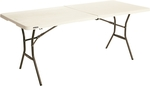 Lifetime Bi-Fold Trestle Table: 4ft $29.90 (was $43.90) 6ft $39.90 (was $57.95) @ Bunnings [SA only]