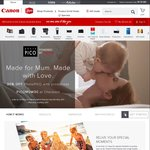 Canon photoPICO Mothers' Day promo 30% off photo books