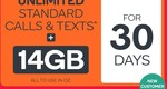 Kogan Mobile 30 Day - 14GB Unlimited Calls/TXT - Extra Large Voucher Code – $1 (New Customers)