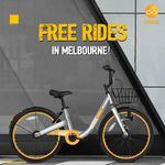 Unlimited Free Trips in June, July, Aug in Melbourne with oBike (Dockless Bicycle Sharing)