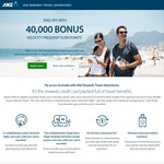 ANZ Rewards Travel Adventures CC: 40,000 Velocity FF Points + Free Return Virgin Flight Each Year + No Int Trans Fees - $225 AF