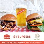 [NSW, Sydney] Selected Burgers $4 (Normally $10) @ Guilty Darlinghurst via Burger Collective App, Saturday 30/9