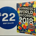 "Guinness World Records 2018 $22, Wilbur Smith's ""The Tigers Prey"" $21.50 @ BigW Instore"