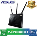 Asus RT-AC68U Router $172.37, or Asus RT-AC88U Router $318.28 Delivered @ Wireless1 eBay