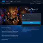 [PC] Starcraft Remastered $14.95 AU (Usually $21.95) from Blizzard Store