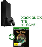 Xbox One X 1TB Console + Sea of Thieves Digital Download $589.05 Delivered from EB Games (eBay)