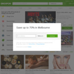 Extra 10% off Sitewide (Unlimited Redemptions) @ Groupon