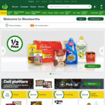 $10 off $50 Spend @ Woolworths Online