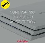 Win A Sony PS4 Pro (1TB Glacier White) from PrizeTopia