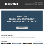 50% off Already Reduced Prices on Rushfaster Outlet Store (Orders over $60) - Free Shipping over $100