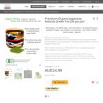 Premium Organic Japanese Green Tea Matcha Made in Japan 15% off $21.24 (was $24.99) + Free Shipping @ Nizen