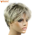 Short Pixie Cut Style Wig Synthetic Wigs For Women AUD$16.99 (50% off) + Free Shipping @eSkybird
