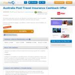 12% Cashback + 10% off Australia Post Travel Insurance @ Pricepal