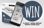 Win a Savvy Level Device from Caravanning With Kids