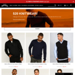 Knitwear Now $20 (Was $49.99) + Free Shipping over $50 @ Hallensteins
