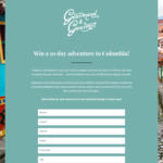Win a Holiday in Colombia for 2 Worth $10,000 from Gourmand & Gourmet