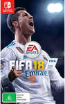 [Nintendo Switch] FIFA 18 $25 (Was $79) C&C or $3.90 Delivery @ Big W