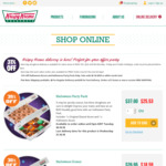 31% off Krispy Kreme Online Orders, (1 Dozen Original Glazed & 1 Halloween Dozen Iced Donuts for $25.53)