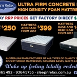 [VIC] Australian Made Queen Mattress $250 + Free Pickup from Sunshine or $50 Delivery (Melbourne Metro) @ SleepnRelax