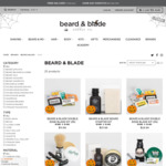 15% off Beard & Blade Branded Products @ Beard&Blade