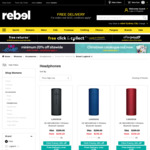 UE BOOM 3 $159.20, UE MEGABOOM 3 $239.20 + Free Shipping (Black, Blue & Red) @ Rebel