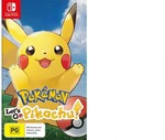 [Switch] Pokemon Let's Go Pikachu/Eevee $59 Free C&C (or + $2 Delivery) @ Harvey Norman
