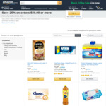 Save 25% on Orders of $50+ on Select Household and Pantry Staple + Delivery (Free with $49+ Spend or Prime) @ Amazon AU