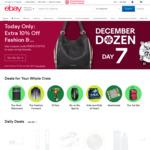 10% off Fashion & Beauty ($0 Minimum Spend, Max US $100 Discount) @ eBay US